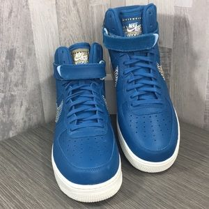 Nike Shoes - Nike Air Force 1 High '07 LV8 industrial blue